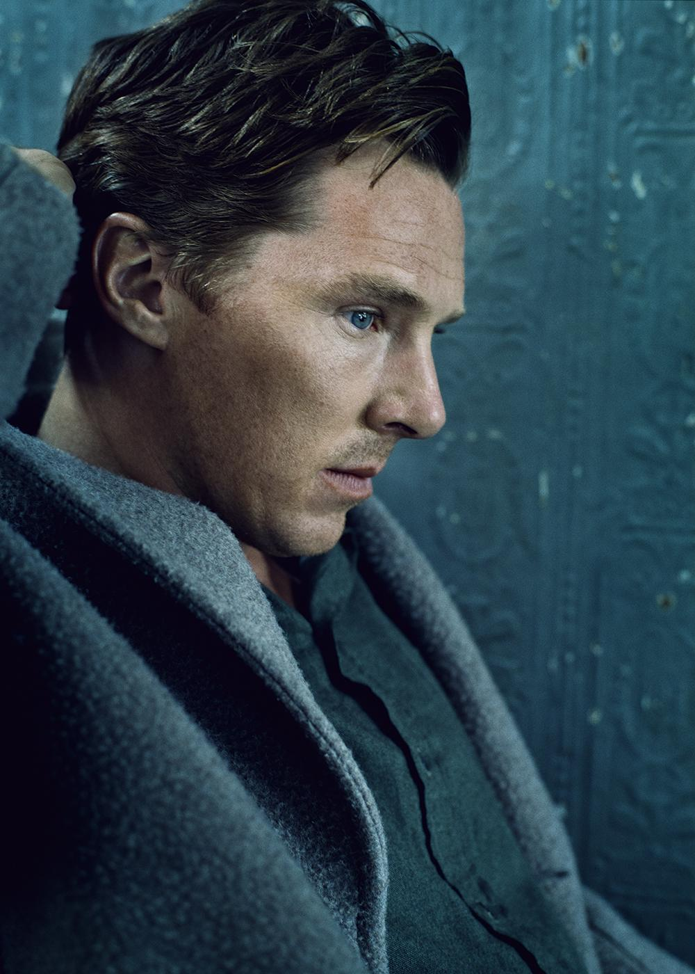 Benedict Cumberbatch Covers ELLE UK! – The Girl Spot Blog