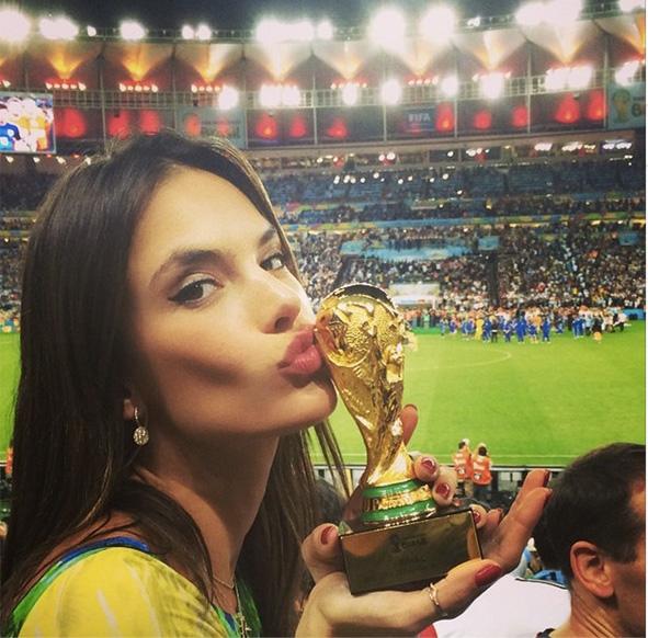 allesandra ambrosio world cup instagram