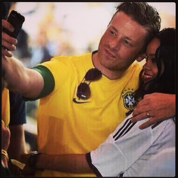 jamie oliver rihanna world cup final jamie oliver instagram