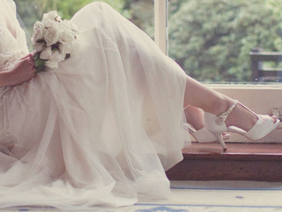 vintage inspired t bar wedding shoes blog