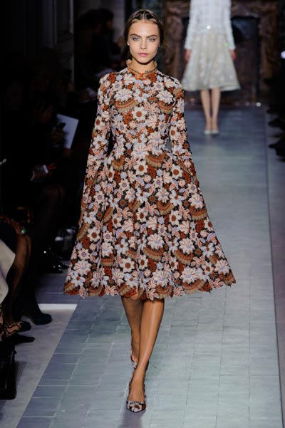 cara delevingne valentino couture ss13 elle uk imaxtree