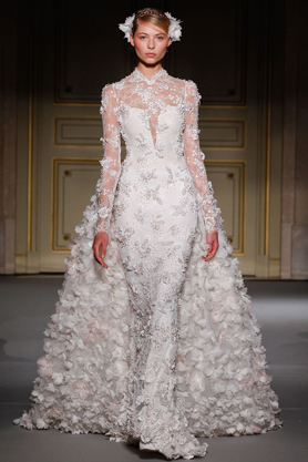georges hobeika wedding dress couture ss13