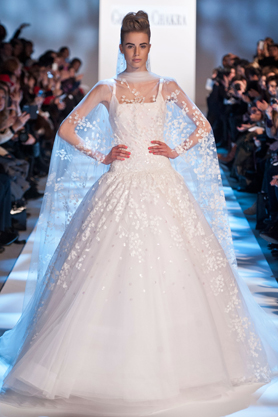 georges chakra wedding dress couture ss13