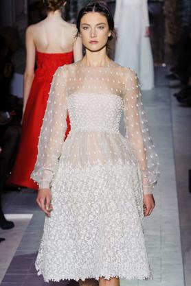 valentino wedding dress couture ss13 2