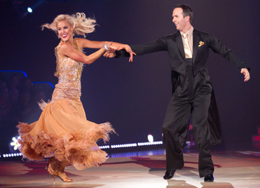 natalie strictly come dancing 2012