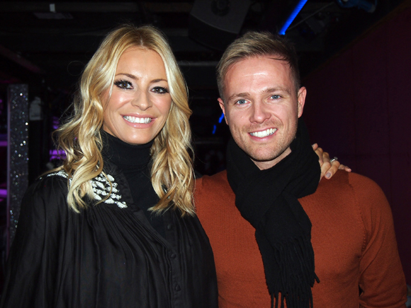 strictly tess daly nicky backstage