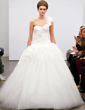 vera wang fall 2013 full gown