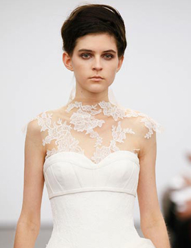 vera wang fall 2013 invisible neckline