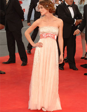 Keira Knightley Red Carpet Dresses Chanel Haute Couture - This