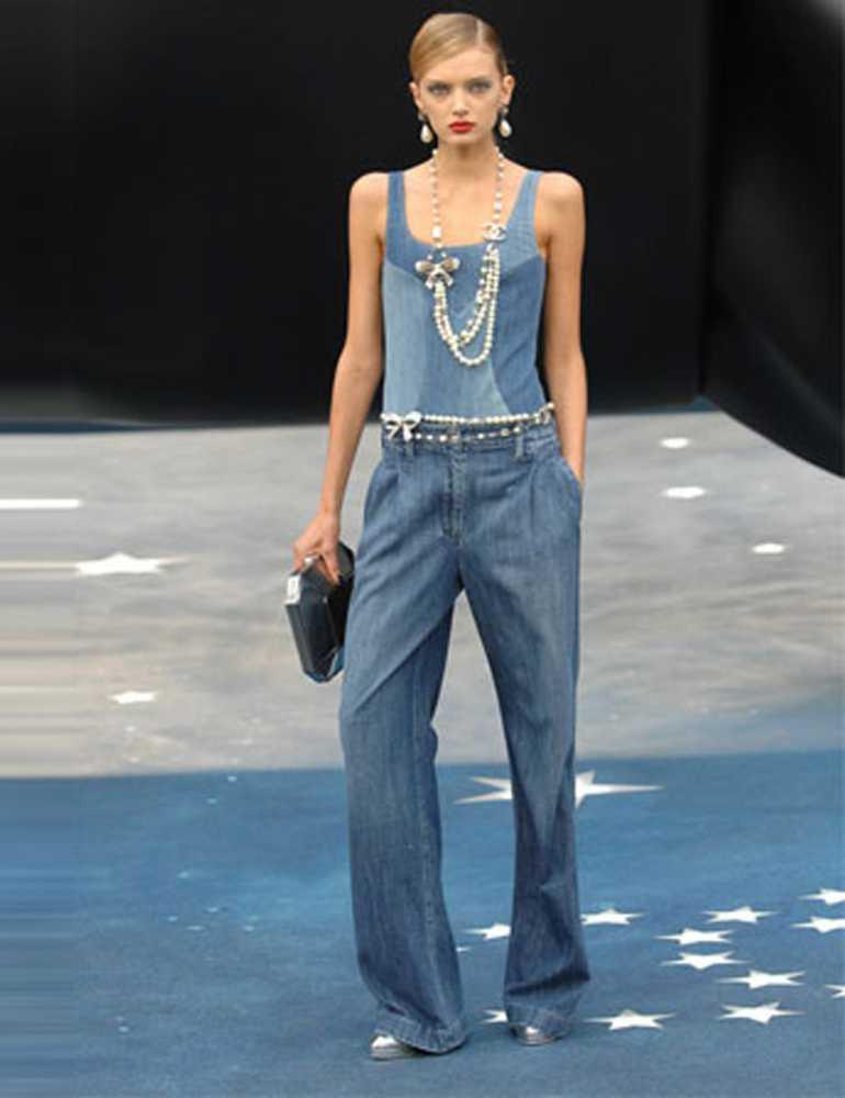 Женские джинсовые двойки