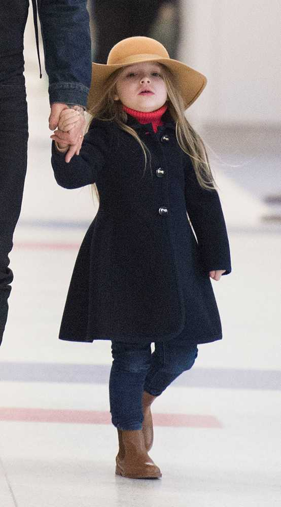 Why 4 Year Old Harper Beckham Has Never Had Her Long Hair Cut