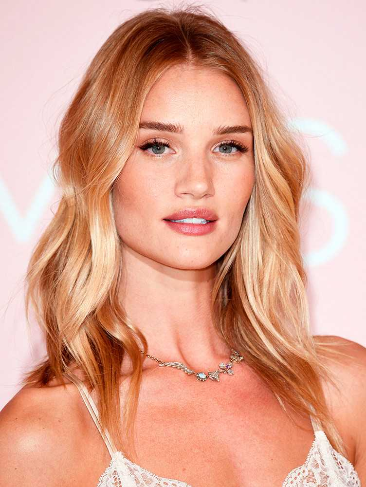 With Rosie huntington whiteley hair what necessary