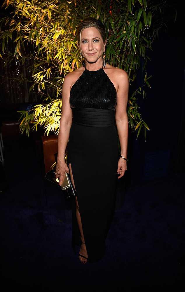 Jennifer Aniston 2014 Golden Globes Photo by GETTY