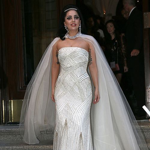 unofficially… lady gaga has tied the knot