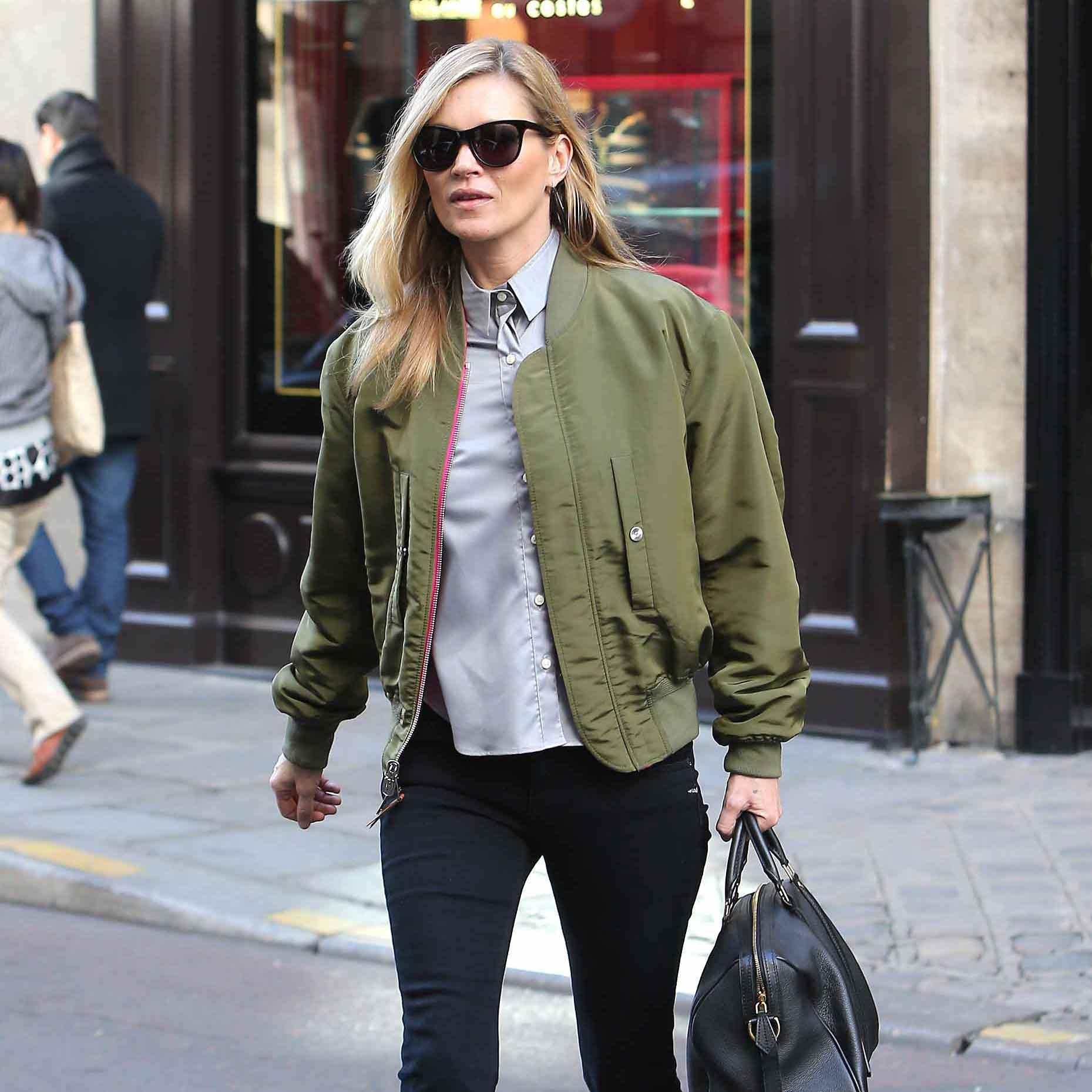 Style Magazine ELLE UK Kate Moss Street Style