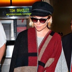 Everybody's wearing… The Burberry blanket coat