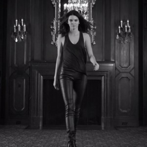 Kendall Jenner Does Her Best Model Strut On Camera