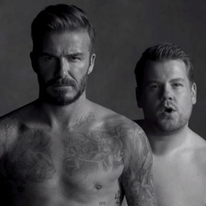 David Beckham and James Corden launch D&J Briefs