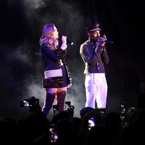 Cara and Pharrell: together again