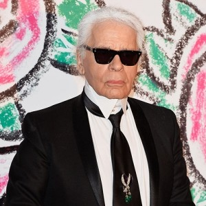 Karl Lagerfeld and Zoolander 2
