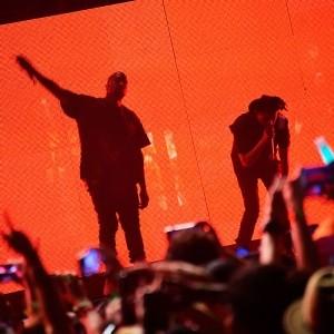 Kanye at Coachella