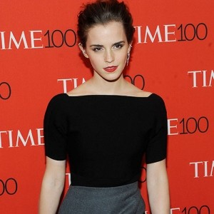 Emma Watson honoured at Time 100 Gala