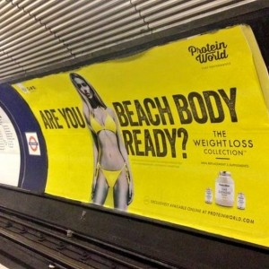 Protein World responds to beach body ad backlash