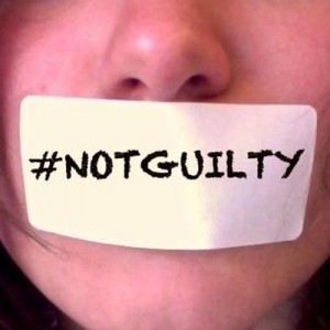 Ione Wells launches #Notguilty