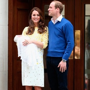 The Royal Baby is here. And it's a girl!