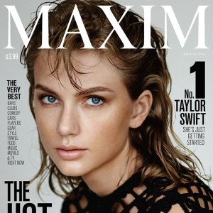 Taylor Swift just topped Maxim's Hot 100 list