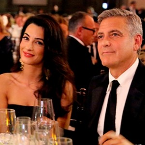 George Clooney shares his proposal story