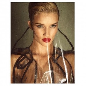 Rosie Huntington-Whiteley On The Cover of Lui