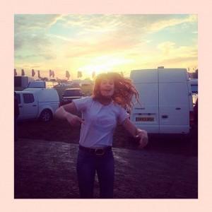 Glastonbury A-List Instagrams