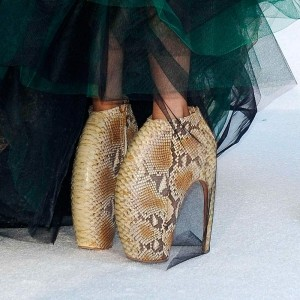 Lady Gaga Now Has Her Own Pair(s) Of Alexander McQueen Armadillo Boots