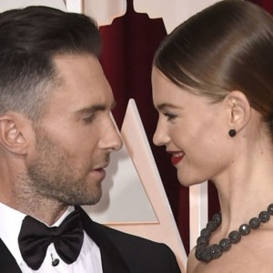 Watch Adam Levine Serenade Behati Prinsloo