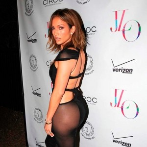 Anatomy of JLo's birthday suit