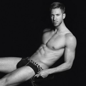 Calvin Harris Stripped Off For Emporio Armani