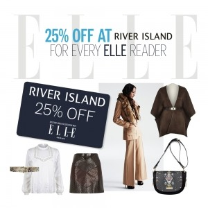 25% OFF At River Island For Every ELLE Reader