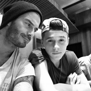 David Beckham Just Did THE Most Dad Thing On Instagram