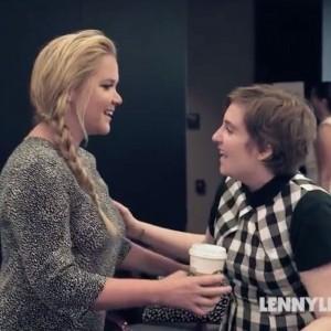 Amy Schumer And Lena Dunham Face Off Over Meeting Hillary Clinton