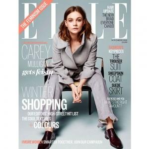 Carey Mulligan is ELLE's November Cover Star