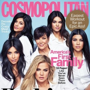 All Six Kardashian-Jenner Women Pose For New Joint Magazine Cover