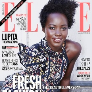 Lupita Nyong'o is ELLE's January Cover Star