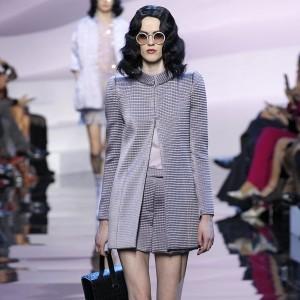 At Armani Prive Couture, Purple Reign