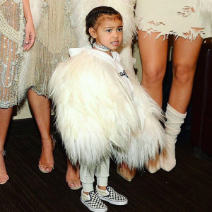 MC Hammer Made An Adorable Video Of North West Dancing At Kanye's Show