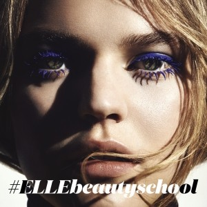 ELLE Beauty School: How To Wear Blue Makeup