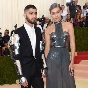 Is Robo-Dressing Now A Thing? Zayn Malik And Gigi Hadid Make Their Red Carpet Debut