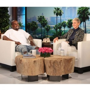 Watch Kanye West Go Full Kanye About Thinking and the Human Race on Ellen