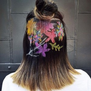 Hot Hair Trend: Hair Stenciling