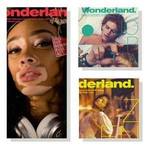 Zendaya, Winnie, Jordan on Wonderland
